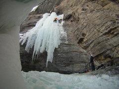 """Rock Climbing Photo: Starting on Frigid, finishing 7th """"Frigid Ten..."""