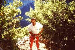Rock Climbing Photo: Steve Bowen - Sentinel Rock.  Part time climber, p...