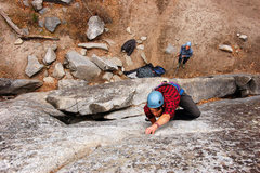 Rock Climbing Photo: Eric H through the crux (Link to the rest of my ph...