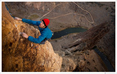Rock Climbing Photo: Voyage of the Cowdog - Good work Jon! Photo: Tyler...