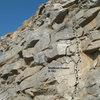 Shattered Dreams (5.10c), Riverside Quarry