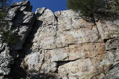 Rock Climbing Photo: Practice Wall  Crowders Mountain State Park, North...