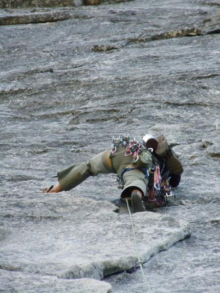 Rock Climbing Photo: Bears Reach.