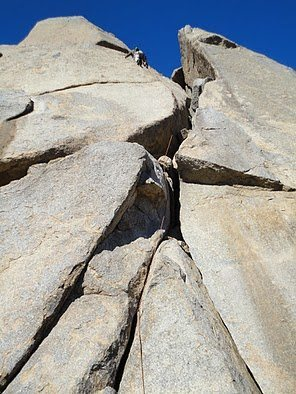 Rock Climbing Photo: pinnacle peak