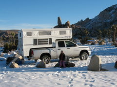 Rock Climbing Photo: Jtree Camping