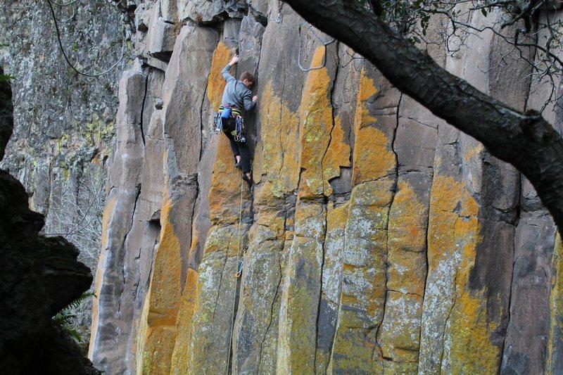 Rock Climbing Photo: A fun hand crack