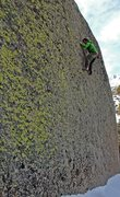 Rock Climbing Photo: Mike Brady on 'Sketch Pad'