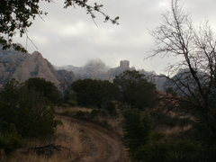 Rock Climbing Photo: Entering the West Stronghold, Cochise Stronghold, ...