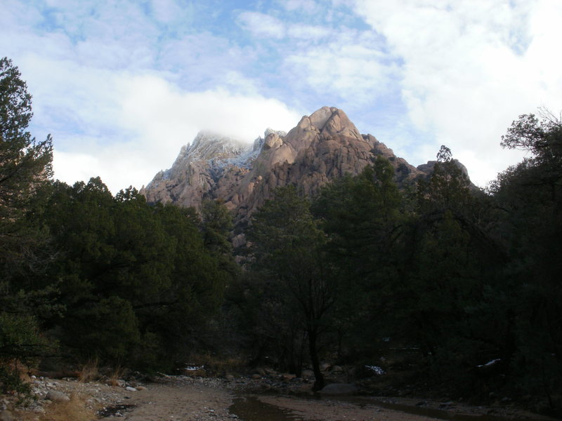 From camp in the West Stronghold, Cochise Stronghold, AZ
