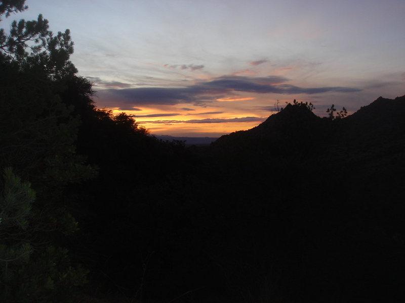 Sunset, Cochise Stronghold, AZ