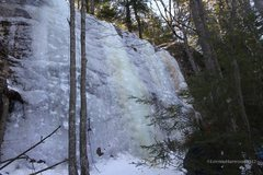Rock Climbing Photo: Moss Slab, Stonehouse Pond, Barrington, NH. Feb 20...