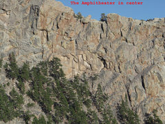 Rock Climbing Photo: The Amphitheater Overhangs