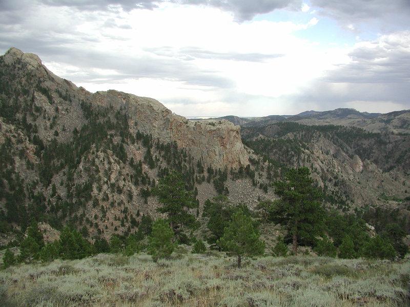 Southwest Ridge from West