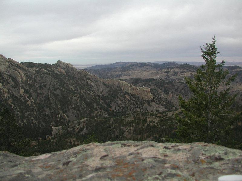 Rock Climbing Photo: Southwest Ridge from Split Rock