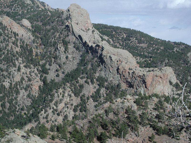 Rock Climbing Photo: The Southwest Ridge from Toni Ridge
