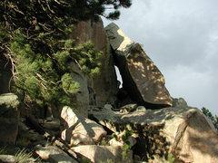 Rock Climbing Photo: The Tunnel