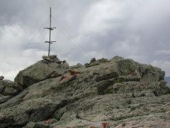 Rock Climbing Photo: The Split Rock Summit