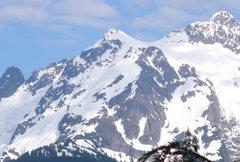 Rock Climbing Photo: North Face Shuksan