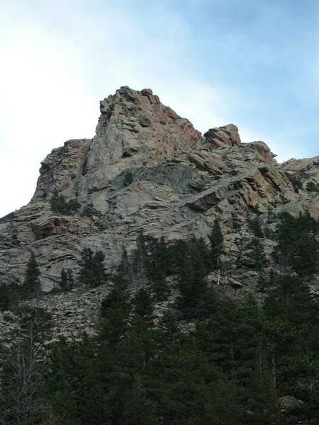 The NW Buttress of Reese Mtn from Ashley Creek Canyon