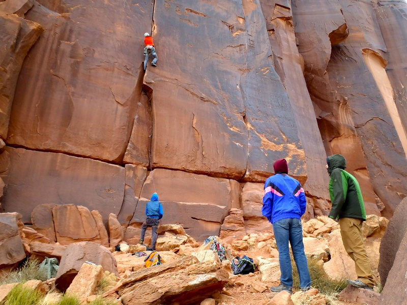 Rock Climbing Photo: How to identify the base:
