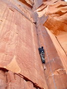 "Rock Climbing Photo: in the thin of it... (notice that the ""death ..."