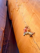 Rock Climbing Photo: Annunaki stays nice and shady... (and DRY too!)