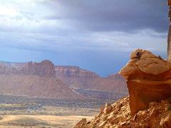 Rock Climbing Photo: enjoying some golden rays
