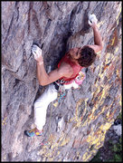 Rock Climbing Photo: Paul Crawford climbing on the Outside Face. Photo ...