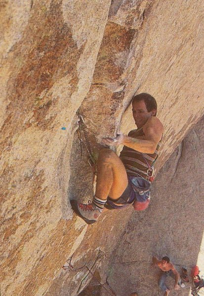 Rock Climbing Photo: Alan Watts, 1985