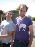 Rock Climbing Photo: sweet shirt i scored while yard selling in Saint G...