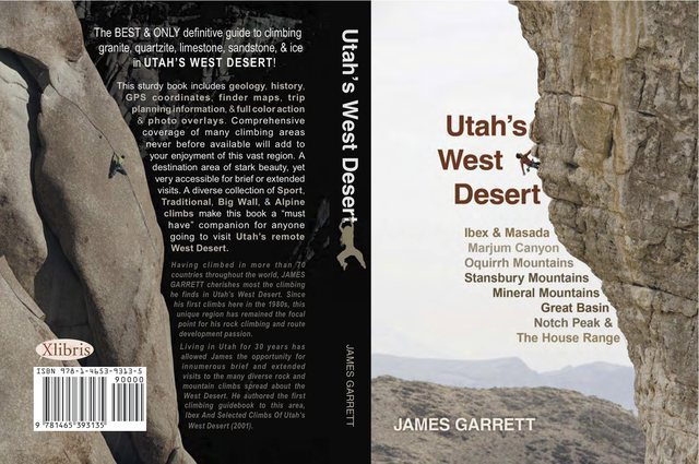 Utah's West Desert guidebook cover.