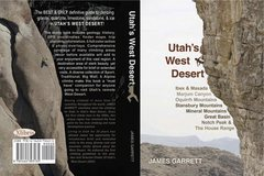 Rock Climbing Photo: Utah's West Desert guidebook cover.