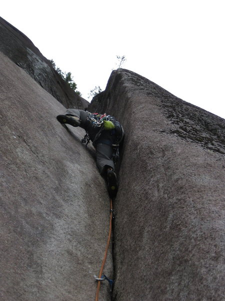 Flume Pitch on Skywalker. 6/2011<br> <br> Photo: Reed Cusack