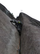 Rock Climbing Photo: Flume Pitch on Skywalker. 6/2011  Photo: Reed Cusa...