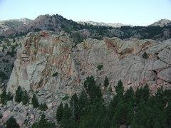 Rock Climbing Photo: The 80 ft. Wall