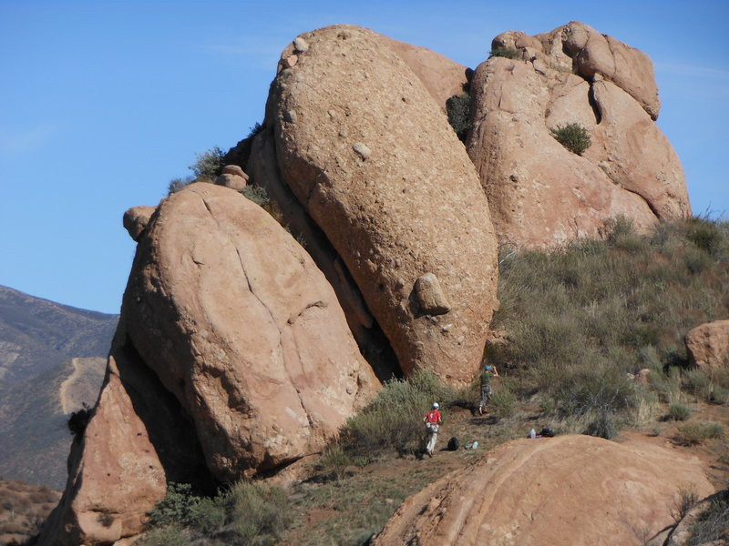 Rock Climbing Photo: The Diner from the SW.