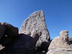 Rock Climbing Photo: sharks fin
