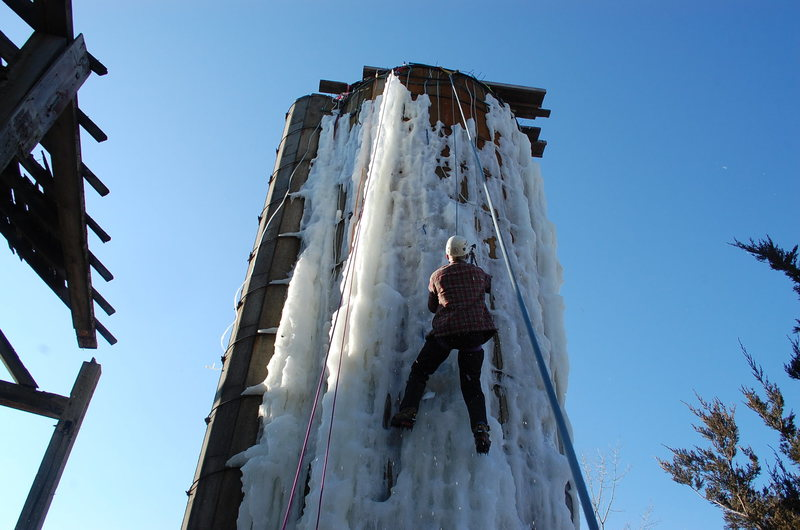 Rock Climbing Photo: could be the last...