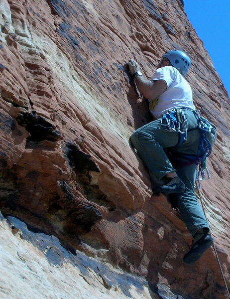 Rock Climbing Photo: This felt like the crux to me.