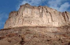 Rock Climbing Photo: North Butte, Echo Crack is just around the corner ...