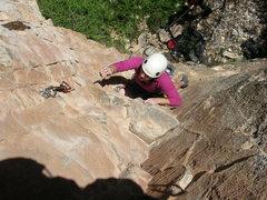 Rock Climbing Photo: Reach!