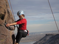 Rock Climbing Photo: Just another nice winter day....