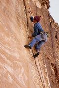 Rock Climbing Photo: Andy Hansen on Lizard Locks, 5.11. Photo Jason Mol...