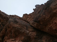Rock Climbing Photo: the route to mecca