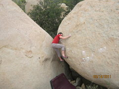 Rock Climbing Photo: John Weinberg on Death Vomit V4