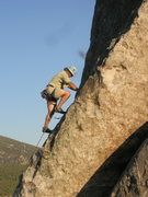 Rock Climbing Photo: Perfect afternoon light on the Gallstone.