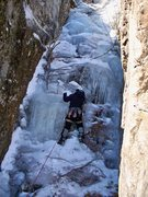 Rock Climbing Photo: Jimmi Jazz higher up in Yukon Jon