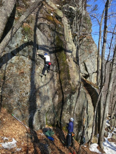 """will and dave trumper on this instant classic recently added by visionary route developers Lee Hansche and Lily """"Hammer"""" Hallett!"""