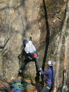 Rock Climbing Photo: Will jammin the start...