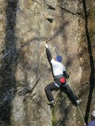 Rock Climbing Photo: tricky start moves